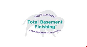 Product image for First Buffalo Total Basement Finishing $1,500 off a full basement finishing project OR $500 off restoration walls & floors.
