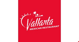 Product image for Vallarta Mexican Restaurant $5 OFF any purchase of $25 or more.