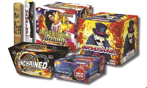 Product image for Allen's Fireworks buy 1, get 1 FREE on many items throughout the store!