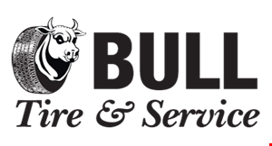 Product image for Bull Tire and Service  $10 OFF - any service over $100 $20 OFF - any service over $250 $50 OFF - any service over $500 $100 OFF - any service over $1,000Excludes tires and wheels