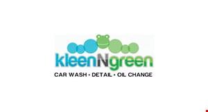 Kleen N Green logo