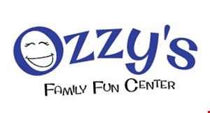 Ozzy's Family Fun Center logo