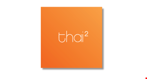 Product image for Thai 2 Off 15% Sundays Only