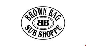 BROWN BAG SUB SHOPPE logo