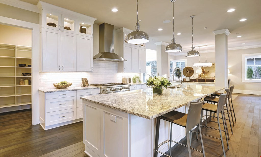 Product image for Cabinet & Stone City starting at $38/sq.ft. installed quartz countertops
