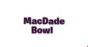 Macdade Bowl, Inc. logo