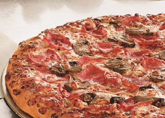 Product image for Domino's Pizza $7.99 each 2 Medium 3-Topping Pizzas.