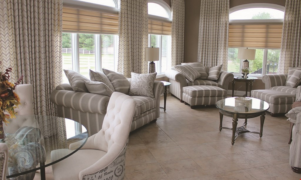Product image for Budget Blinds of Westerville 20% off select window treatments by Budget Blinds professional installation