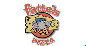 Product image for Fattes Pizza $19.99 +tax two large pizzas