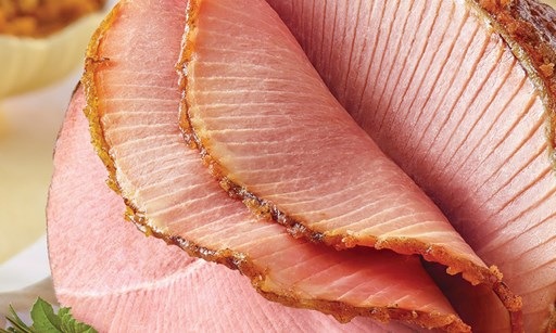 Product image for HONEYBAKED HAM $10 off any bone-in half ham.