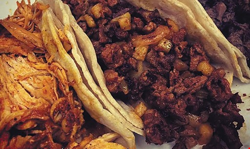 Product image for Taco Bar $2 OFF your check of $10 or more.