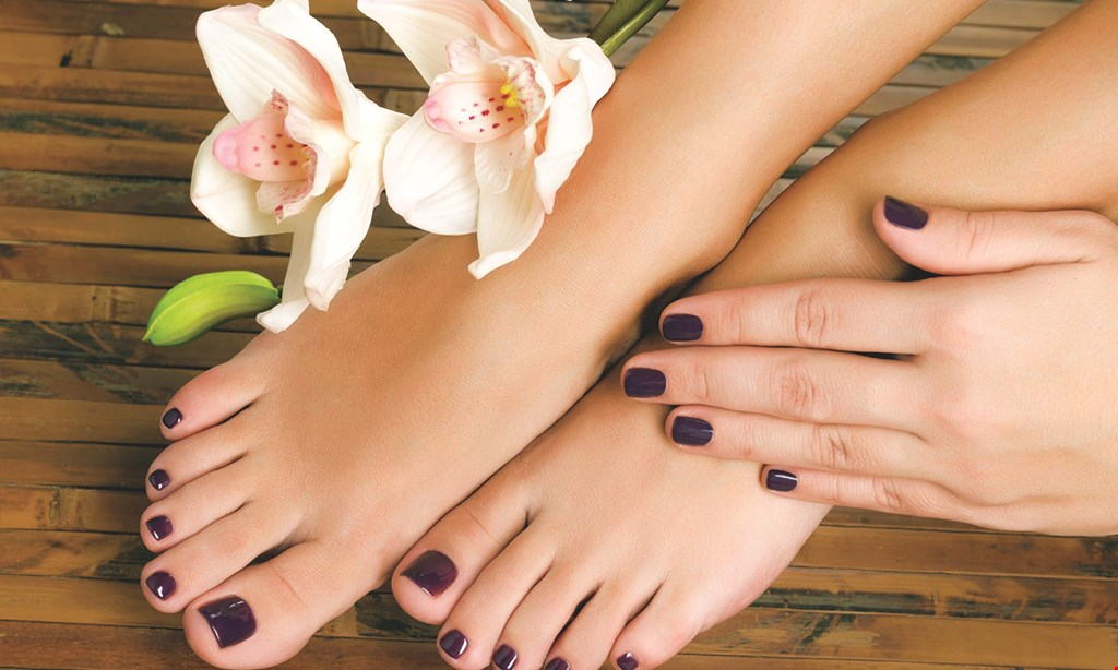 Product image for Lavender Nail & Spa $5 off pedicure/manicure combo