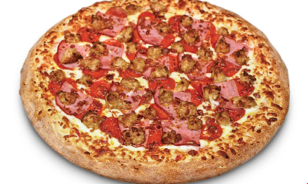 Product image for Porky's Pizza $26.99 plus tax Family Special