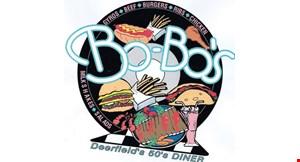 Bo-Bo's Gyros and Hot Dogs logo