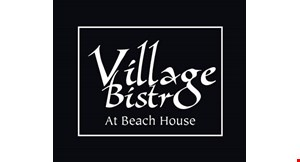 Village Bistro at Beach House logo