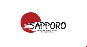 Product image for Sapporo Hibachi Steak House & Sushi Bar $25 Off With minimum $120.