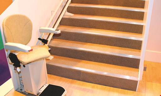 Product image for Harmony Home Medical $500 Off stairlift or vertical platform lift includes free installation and consultation
