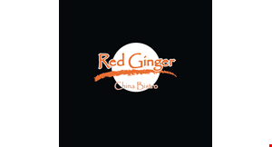 Product image for Red Ginger China Bistro $10 OFF Any purchase of $50 or more.