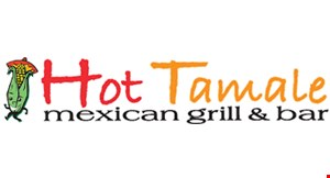 Product image for Hot Tamale Mexican Grill & Bar $10 OFF any purchase