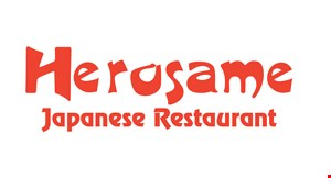 Product image for Herosame Japanese Restaurant 10% off take-out no minimum.