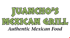 Product image for Juancho's Mexican Grill FREE house margarita with purchase of two entrees.