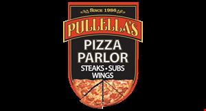 Pullella's Pizza logo
