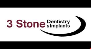 3 Stone Dentistry logo