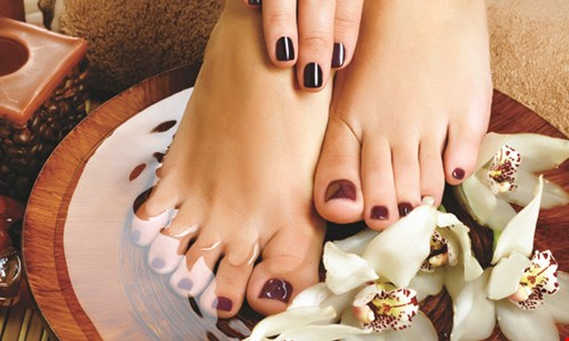 Product image for Manlius Nails & Spa Lavender spa pedicure only $45
