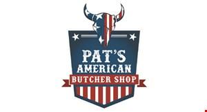 Pat's American Butcher Shop logo