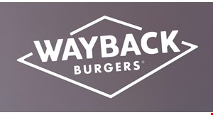 Product image for Wayback Burgers $15 For $30 Worth Of Burgers, Fries & Shakes
