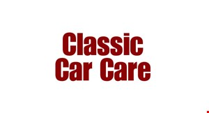 Product image for Classic Car Care $125 full detail bumper to bumper