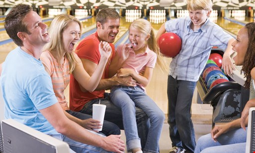 Product image for East Greenbush Bowling Center Free game of bowling