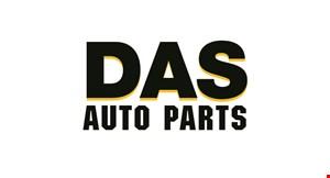 DAS AUTO PARTS logo