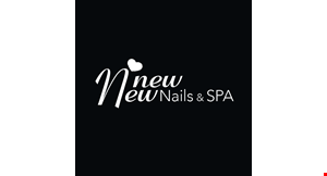 New New Nails & Spa logo