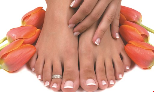 Product image for New New Nails & Spa Free hand lotion with any pedicure, ANC or gel