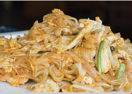 Product image for Blue Orchid Thai 1/2 OFF buy one entree & get the second for 1/2 off of equal or lesser value.