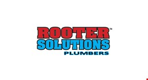 Product image for Rooter Solutions 15% off senior/military/student