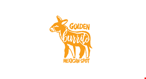 Product image for Golden Burrito Mexican Spot $10 For $20 Worth Of Mexican Cuisine