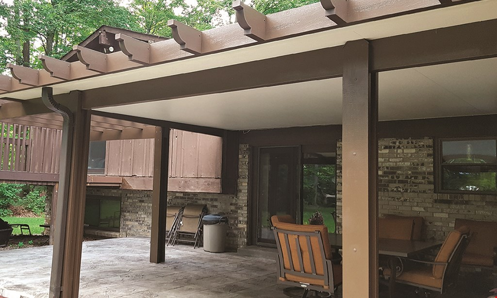 Product image for GIANT FACTORY DIRECT, LLC PATIO COVER, ENCLOSURES, AWNINGS. 10% OFF all patio covers.