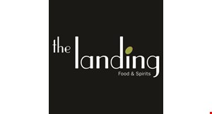 Product image for The Landing Food & Spirits $5 Off any food purchase of $20 or more