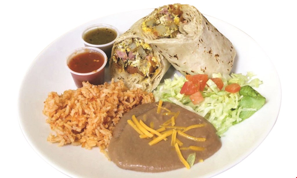 Product image for Burrito Express Buy 1 burrito, get 1 FREE