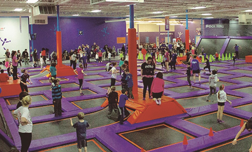 Product image for Altitude Trampoline Park Free hour. Buy one hour at general admission and get one hour free ($10 value)