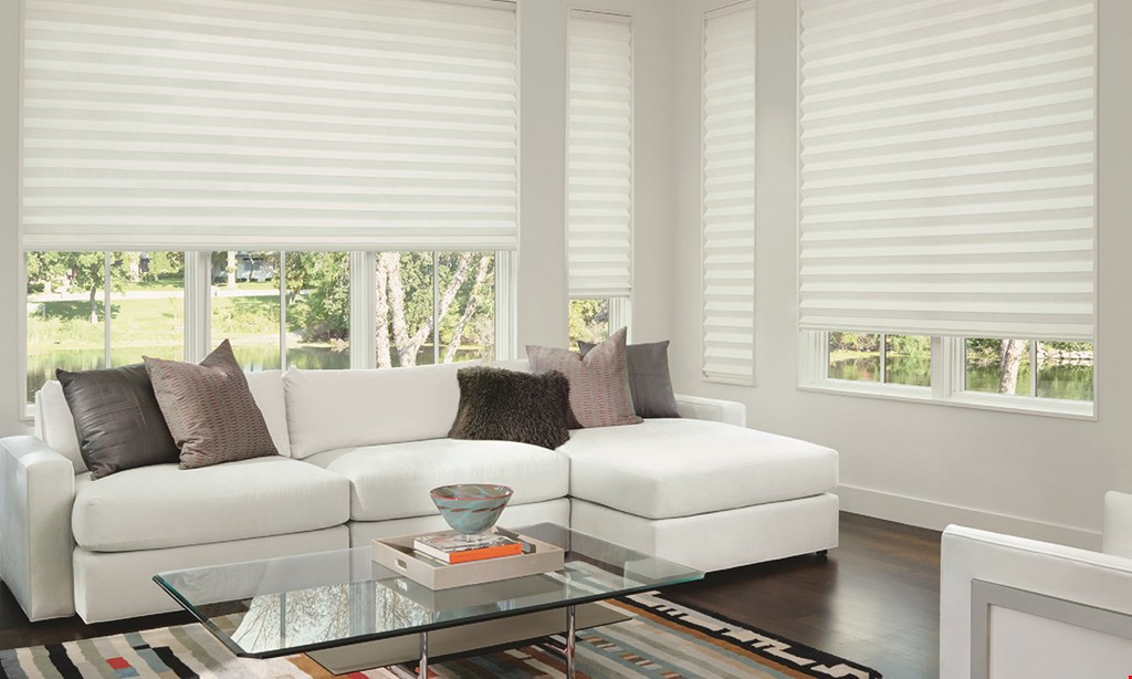 Product image for Custom Window Treatments ALWAYS FREE INSTALLATION ON ALL BLINDS BY HUNTER DOUGLAS.