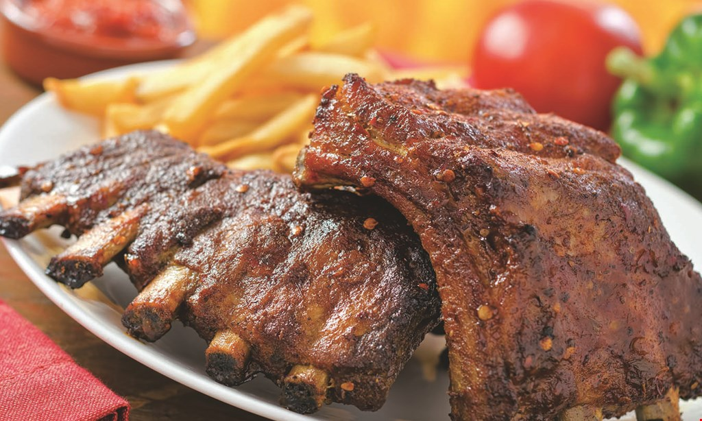 Product image for O's American Kitchen $54.99 ribs, chicken, pizza & salad
