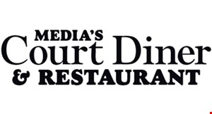 Media's Court Diner & Restaurant logo