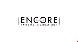 Imagine's Encore Salon & Barber Shop logo