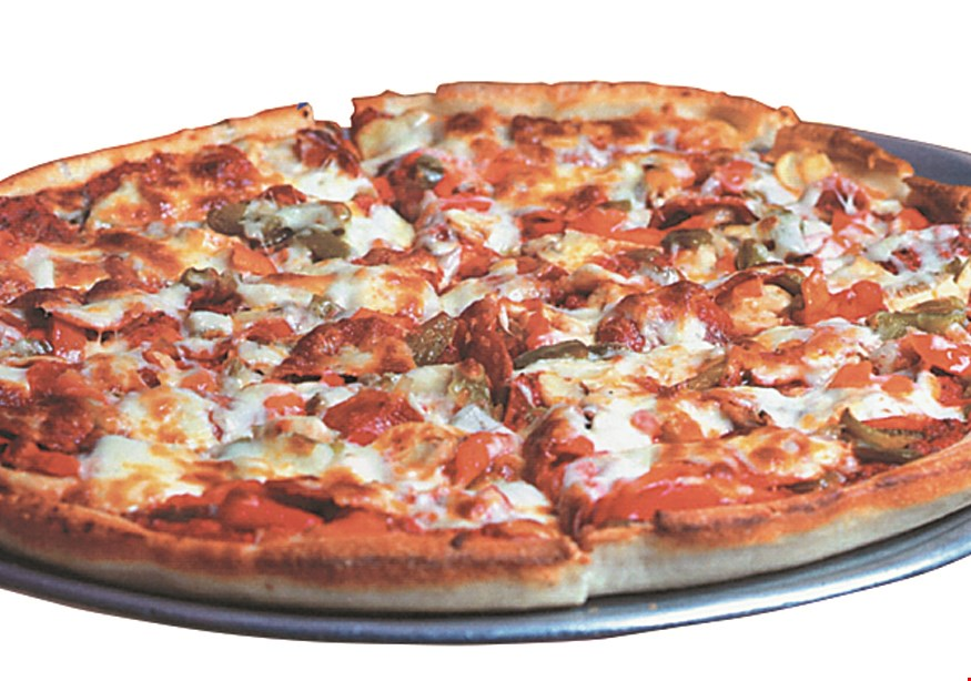 Product image for Twin Trees Fayetteville TUESDAY PIZZA NIGHT $5 OFF any large pizza on Tuesdays one pizza per customer per coupon.