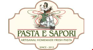 Product image for Pasta E Sapori $10 For $20 Worth Of Fresh Pasta & More