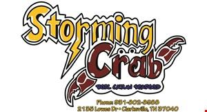 Storming Crab logo