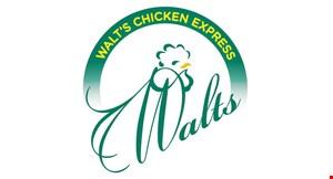 Walt's Chicken Express logo